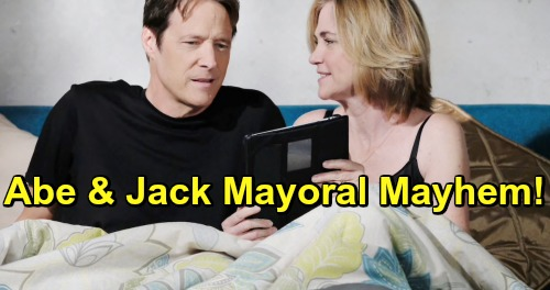 Days of Our Lives Spoilers: Abe & Jack Mayoral Debate Mayhem - Shocking Stunts & Revelations