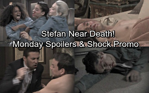 Days of Our Lives Spoilers: Monday, April 23 – Stefan Near Death After Chad's Attack, Gabby Escapes – Prison Assault Stuns Gabi