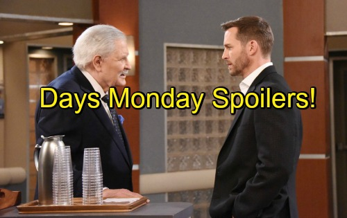 Days of Our Lives (DOOL) spoilers for Monday, September 12, tease that Clyde (James Read) will continue to get his fellow inmates riled up.