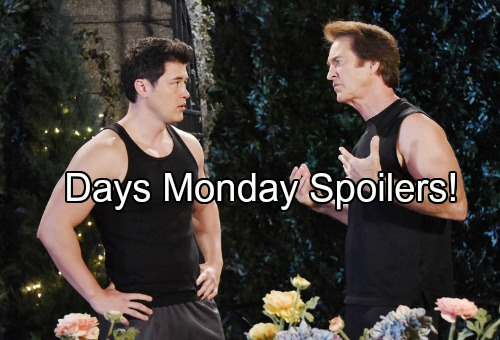 'Days of Our Lives' Spoilers: Eduardo Makes a Confession - Dario Rotten Traitor – Villain Hunt Continues
