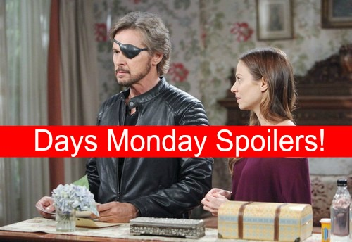 Days of Our Lives (DOOL) Spoilers: Steve Kisses Ava for Kayla Info, Joey Horrified – Ciara Blasts Chase for Bullying