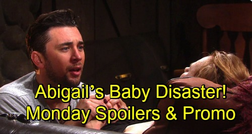 Days of Our Lives Spoilers: Monday, November 12 – Stefan Scores Gabi's Confession – Abigail's Baby Disaster – Wyatt Joins Claire's Plot