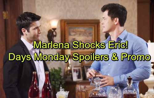 Days of Our Lives Spoilers: Monday, September 25 - Marlena Surprises Eric – Hope and Rafe Compete – Sonny Confesses to Paul