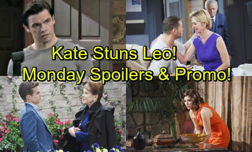 Days of Our Lives Spoilers: Monday, May 14 – Theresa Seeks Xander's Help – Brady Rejects Victor's Deal – Kate's News Stuns Leo