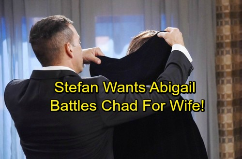 Days of Our Lives Spoilers: Stefan Tries To Seduce Abigail Away From Chad – Brothers Battle For Abby's Heart