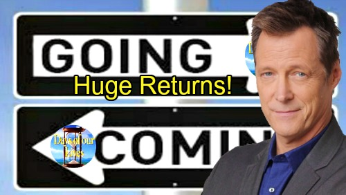Days of Our Lives Spoilers: Comings and Goings – Matthew Ashford Previews Jack's Shocking Return – Another Familiar Face Is Back