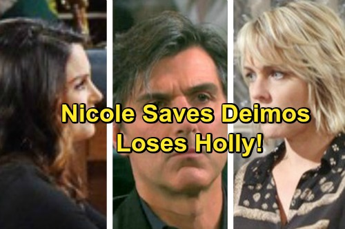 Days of Our Lives Spoilers: Nicole Saves Deimos From Hitman, Charged with Attempted Murder – Chloe Seeks Custody of Holly