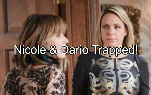 Days of Our Lives (DOOL) Spoilers: Nicole and Dario Team Up to Take Down Kate – Trapped In Intimate Situation