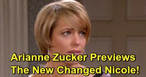 Days of Our Lives Spoilers: Arianne Zucker Previews Nicole's Back-from-the-Dead Story – Reveals Big Character Changes