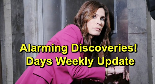 Days of Our Lives Spoilers: Week of July 8 Update – Shocking Confessions, Tough Goodbyes and Alarming Discoveries