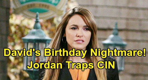 Days of Our Lives Spoilers: Birthday Party Chaos Erupts, Ben and Ciara Freak Over Jordan's Trap – David's Bash Nightmare