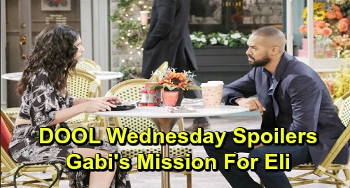 Days of Our Lives Spoilers: Wednesday, December 4 – Gabi's Urgent Mission for Eli – Lani Confesses to Abe – Kate's Shocking New Career