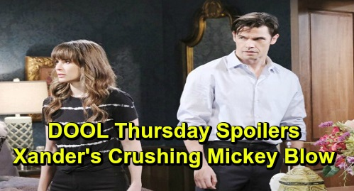 Days of Our Lives Spoilers: Thursday, December 5 – Xander's Crushing Mickey Blow, Rages Over Eric's Demand – Abigail's Evidence Hunt