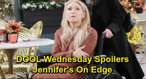 Days of Our Lives Spoilers: Wednesday, December 18 – Rafe's Search Brings Lair Discovery – John Bursts 'Hope's' Bubble – Jennifer's on Edge