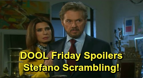 Days of Our Lives Spoilers: Friday, December 20 – Kristen Surprises Gabi – Roman Sends Stefano Scrambling – Abigail Doubts Eli's Feelings