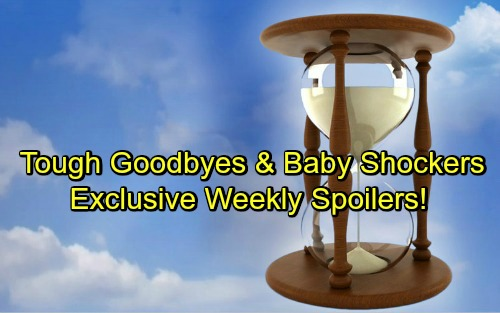 Days of Our Lives Spoilers: Week of July 16-20 – Tough Goodbyes, Sneaky Missions and Baby Bombshells