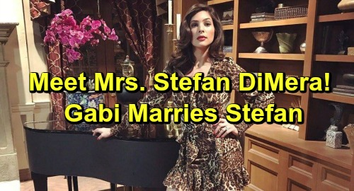 Days of Our Lives Spoilers: Gabi Becomes Mrs. Stefan DiMera – New Power Couple Shakes Up Salem
