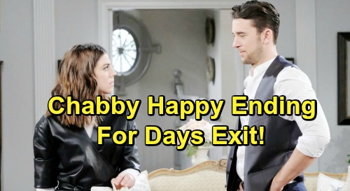Days of Our Lives Spoilers: Chabby Leaving DOOL - Chad and Abigail's Kiss Leads to Emotional Reunion, Sets Up Happy Ending