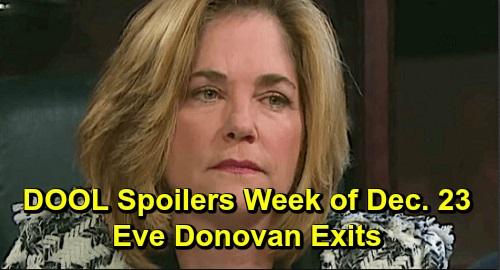 Days of Our Lives Spoilers: Week of December 23-27 – Eve Thanks Abigail, Leaves Town – Kayla Spots Santa 'Steve' – Lani Targets Gabi
