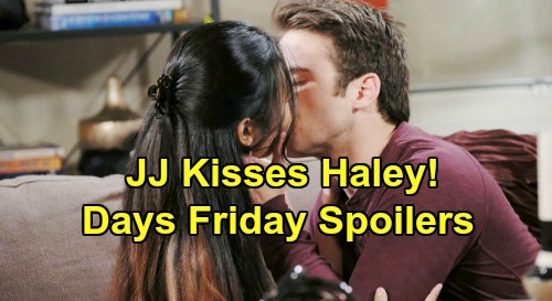 Days of Our Lives Spoilers: Friday, February 8 – Ciara's Sneaky Strategy Backfires – Ben Faces Chad's Rage – JJ Kisses Haley