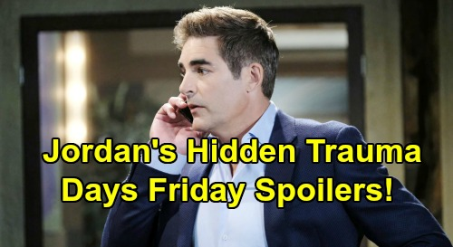 Days of Our Lives Spoilers: Friday, February 22 – Claire's Deadly Secret Revealed – Jordan Shares Secret Trauma