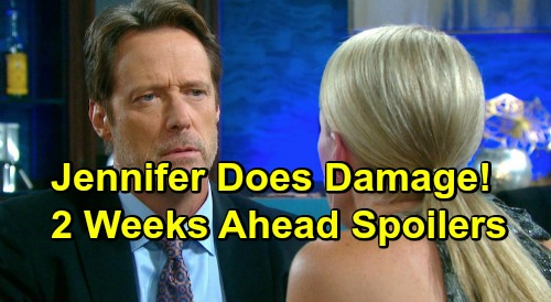 Days of Our Lives Spoilers: 2 Weeks Ahead - Jennifer's Blow Does Serious Damage – Jack's Explosive Interview