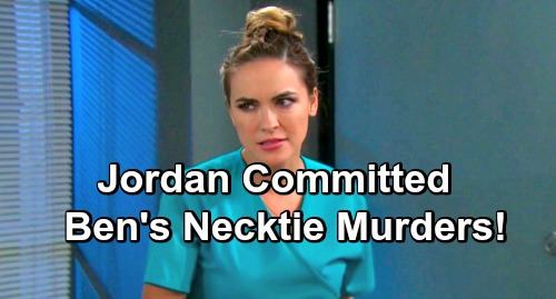 Days of Our Lives Spoilers: Jordan's Capable Of Cold-Blooded Killing - Did She Commit Ben's Murders?