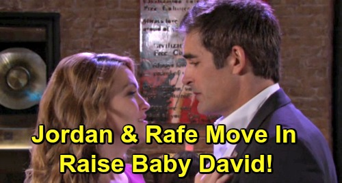 Days of Our Lives Spoilers: Jordan's Recovery Brings Rafe Reunion, Couple Raises Baby David Together?
