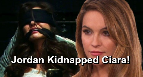 Days of Our Lives Spoilers: Kidnapped Ciara Encounters Culprit, Jordan Ridgeway