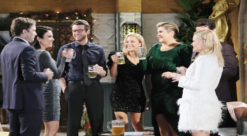 Days of Our Lives Spoilers: 'Last Blast Reunion' Chapter 1, Episode 2 Recap - Phillip Causes Tension - Mystery Person Watches The Reunion