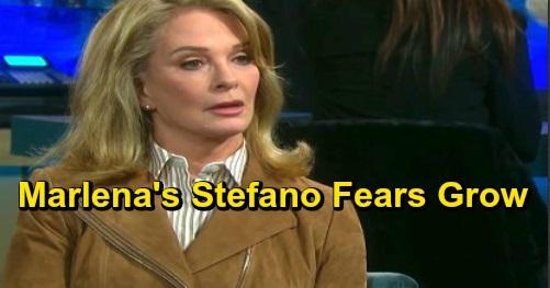 Days of Our Lives Spoilers: Marlena's Growing Fears Bring Guilt for Kate – 'Stefano' Secret-keeper Struggles to Hide Risky Agenda
