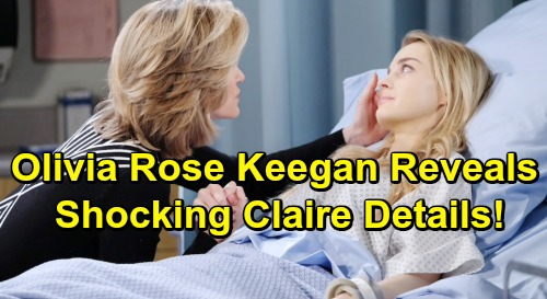 Days of Our Lives Spoilers: Olivia Rose Keegan Reveals Shocking DOOL Exit Secrets – Claire's Sendoff and Potential Comeback