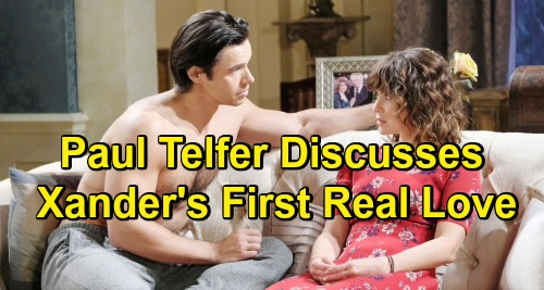 Days of Our Lives Spoilers: Xander and Sarah Get Intimate, Paul Telfer Discusses Xander's First True Love