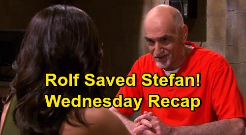 Days of Our Lives Spoilers: Wednesday, May 13 Recap - Rolf Says Stefan's Alive, Gabi Gets Jake Memory Serum - Abby Attacks