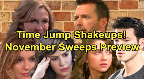 Days of Our Lives Spoilers: Hot November Sweeps Preview – Time Jump Shakeups and a Death, Big DOOL Returns, Baby Drama and More
