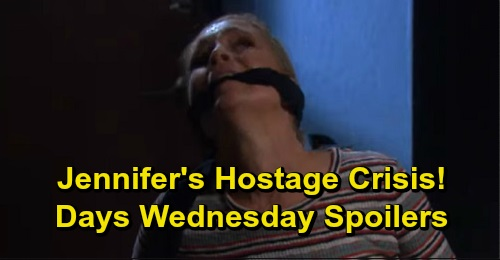 Days of Our Lives Spoilers: Wednesday, September 18 – Jennifer's Hostage Crisis – Ciara and Jordan Face Off – Anna Begs Kristen for Help