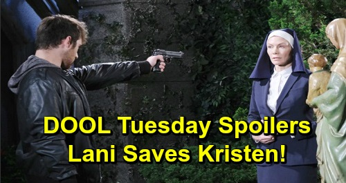 Days of Our Lives Spoilers: Tuesday, December 10 – Lani Saves Kristen's Life – Kate Warns 'Stefano' – Furious Gabi Wants Chad Gone