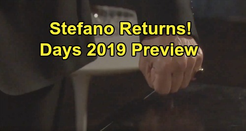 Days of Our Lives Spoilers: Time Jump Preview - Stefano Lives - Prison Cellmate Drama - Justin Devastated By Adrienne's Death