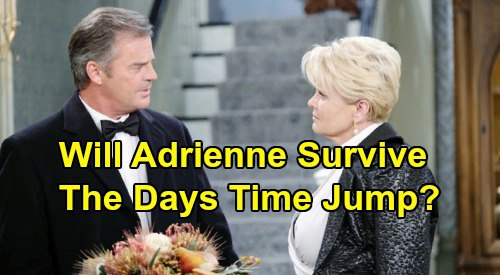 Days of Our Lives Spoilers: Justin Proposes To Adrienne - But Will She Survive The Time Jump?