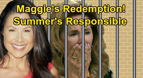 Days of Our Lives Spoilers: Maggie's Redemption - Summer Driving The Night Adrienne & Sarah's Baby Killed?