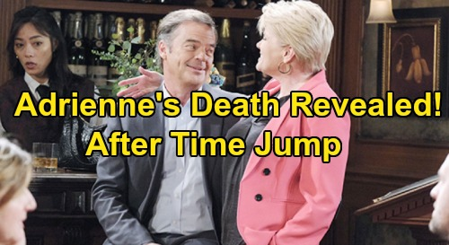 Days of Our Lives Spoilers: Adrienne's Death Revealed After Time Jump – Loved Ones Fall Apart Over Heartbreaking Loss