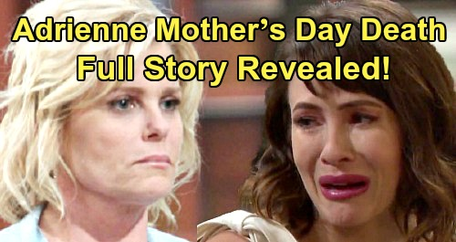 Days of Our Lives Spoilers: Adrienne's Mother's Day Death – Full Story, Missing Sarah Time Jump Shockers Revealed
