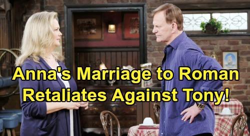 Days of Our Lives Spoilers: Anna Announces Revenge Marriage To Roman, Retaliates Against Tony