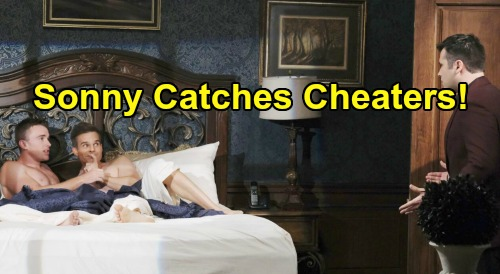 Days of Our Lives Spoilers: Sonny Catches Leo and Will in Bed Together – Cheating Shocker Sparks Outrage