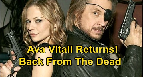 Days of Our Lives Spoilers: Ava Vitali Returns From The Dead - Steve and Kayla Shocker - Tamara Braun Back To DOOL?