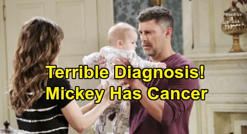 Days of Our Lives Spoilers: Mickey Has Cancer, Brings Baby Swap Revelation – Brady & Kristen Fear They'll Lose Real Daughter?