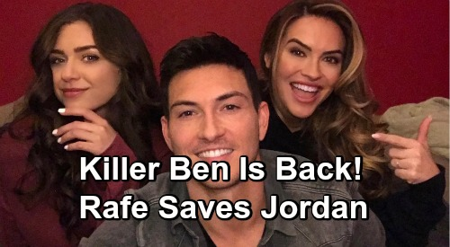 Days of Our Lives Spoilers: Jordan Tries To Murder Ciara – Ben's Killer Side Takes Over