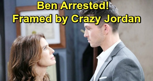 Days of Our Lives Spoilers: Ben's Shocking Arrest, Framed with Charlotte's Blanket and Ciara's Phone – Escape Brings Daring Rescue
