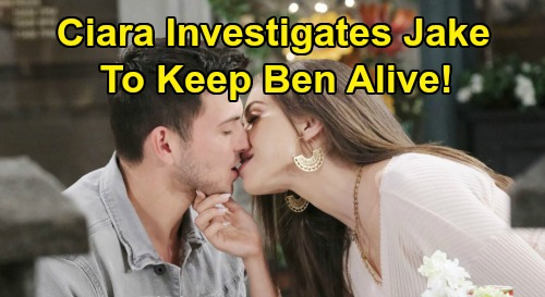 Days of Our Lives Spoilers: Ciara Tackles Stefan Mystery to Keep Ben Alive – New Jake Danger Leads To Shocking Discovery?