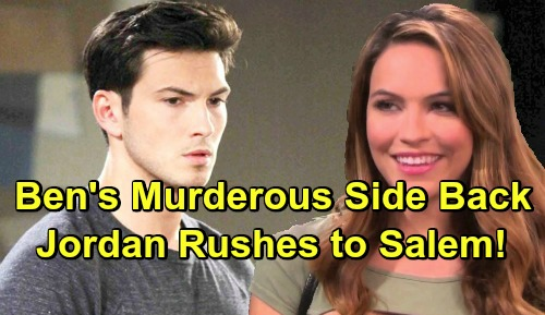 Days of Our Lives Spoilers: Ben Weston Spirals Out of Control, Inner Beast Emerges - Jordan Ridgeway Rushes To Salem